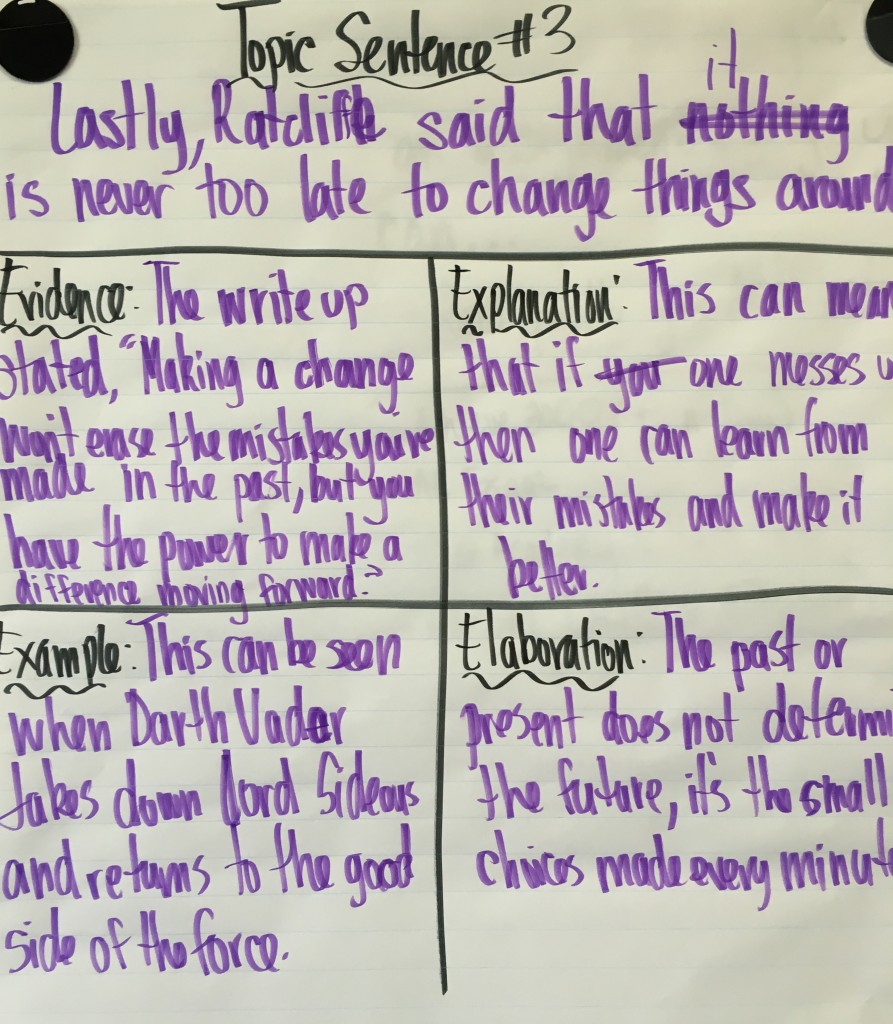 the star wars writing process mr garcia s th grade class please leave a comment on the of my students and continue to encourage them as writers many of them haven t been pushed this much
